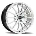 fox fx004 silver alloy wheels manchester