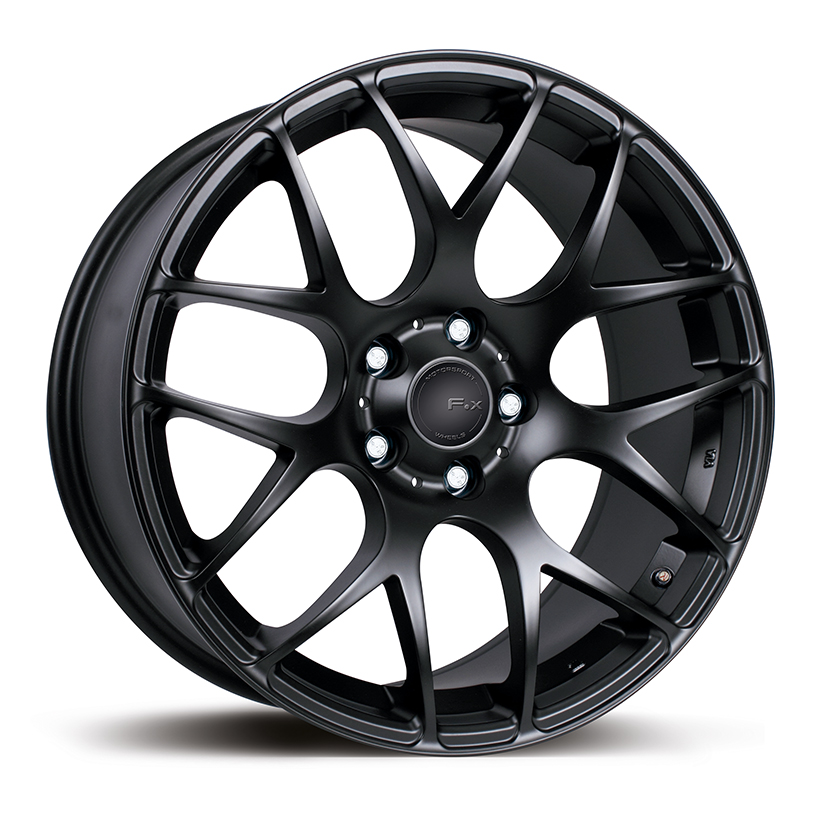 F X Ms007 Black Alloy Wheels Manchester