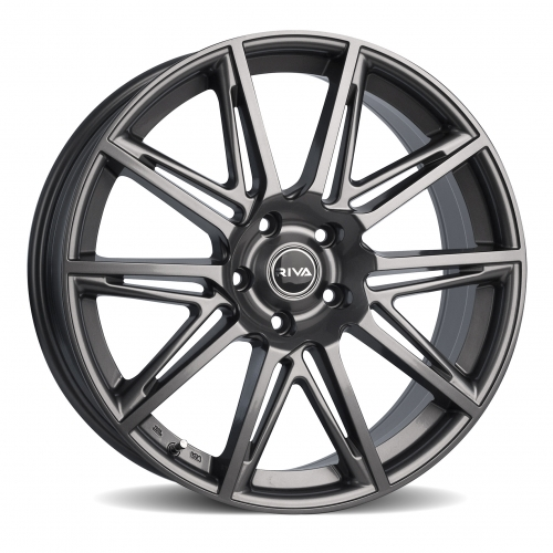 gloss grey riva bva alloy wheels manchester