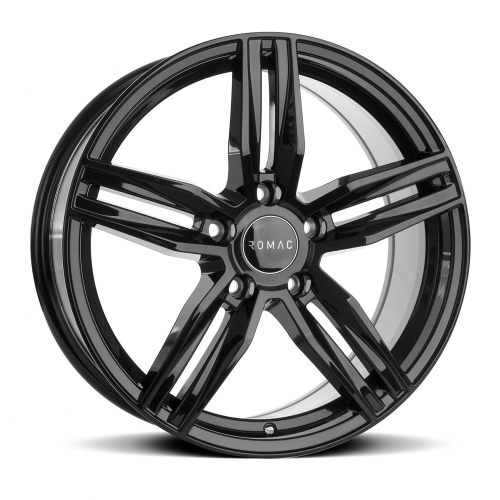 romac venom gloss black alloy wheels manchester