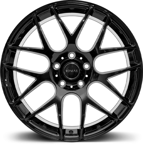 romac radium gloss black